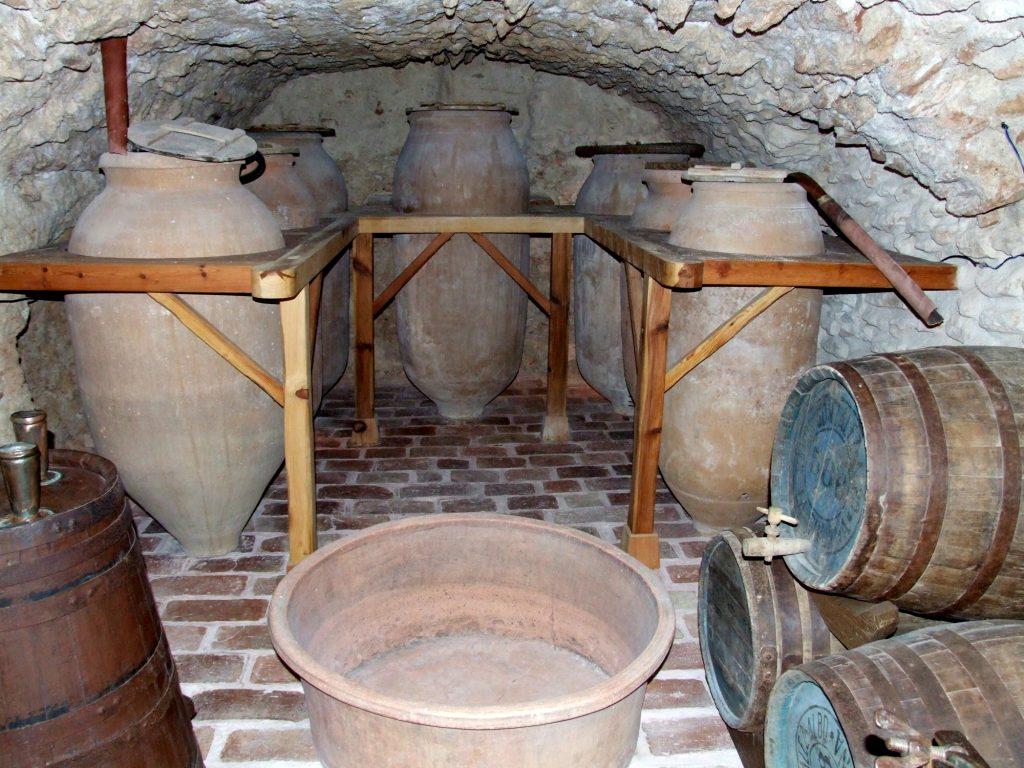 Bodega del Museo Etnográfico de Almagro