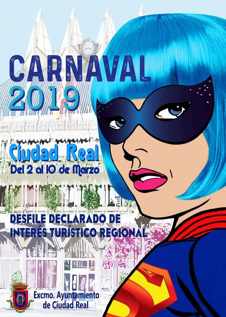 Cartel Carnaval Ciudad Real 2019
