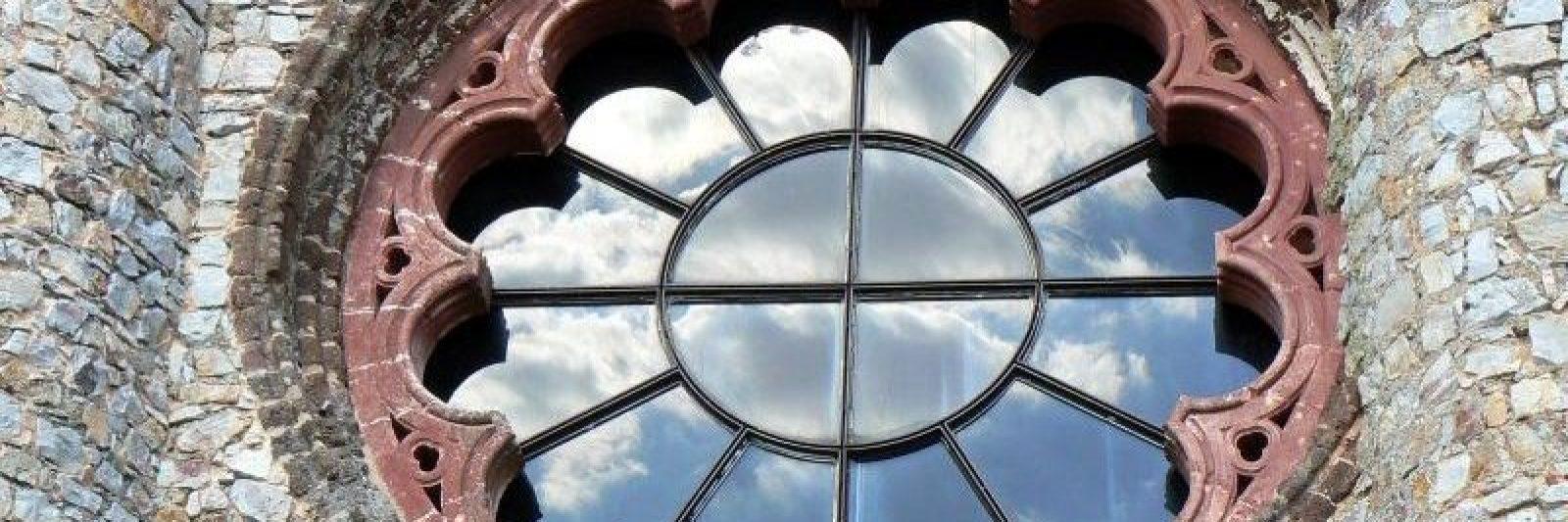 Rosetón de la Iglesia de Calatrava La Nueva
