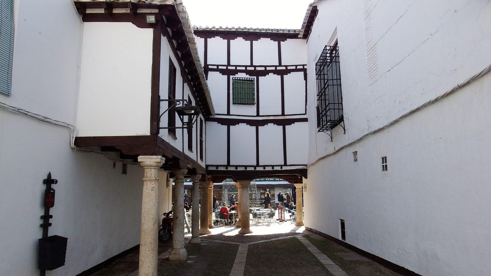 Callejón del Museo del Encaje (Almagro)