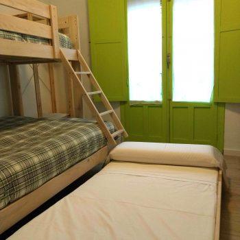 Cama extraible Habitación familiar de La Encomienda VUT