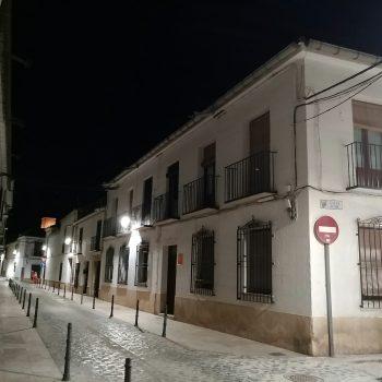Calle Encomienda nocturna