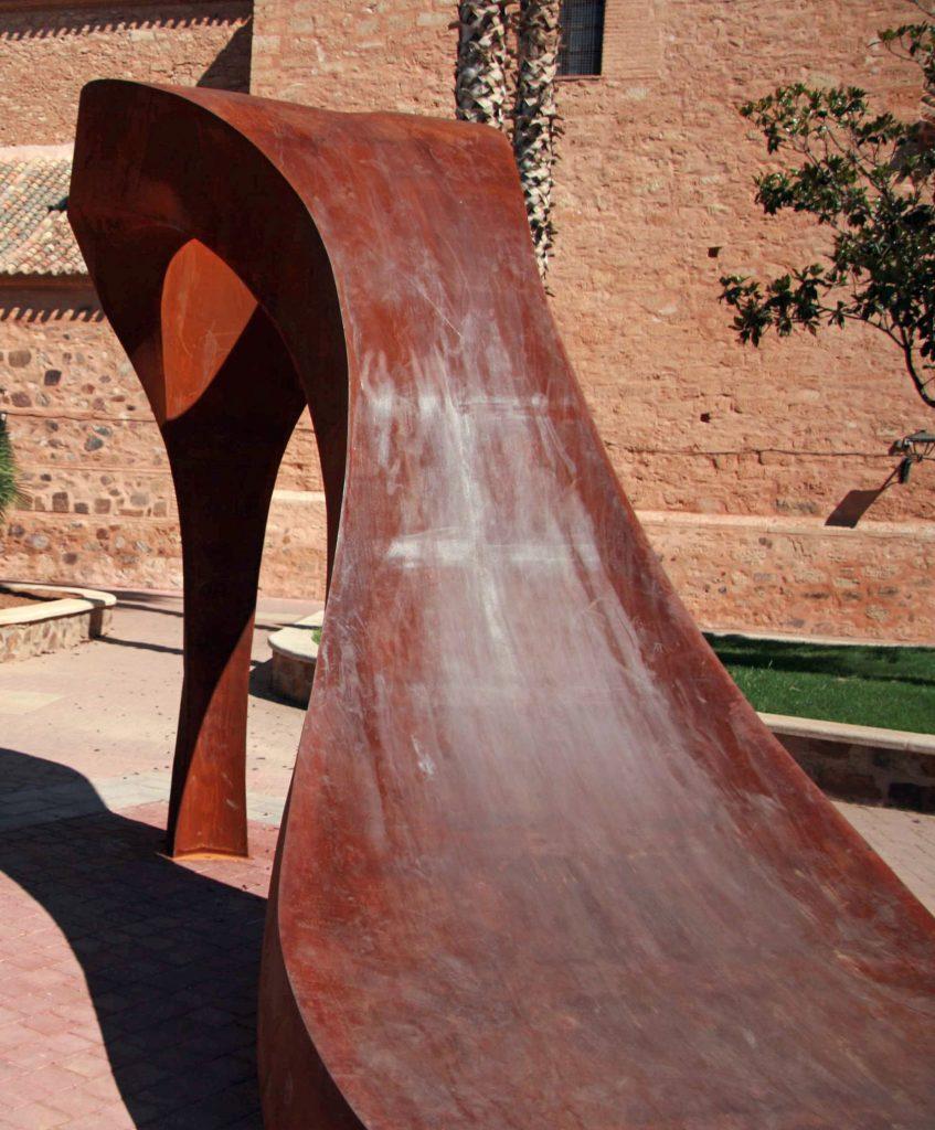 """""""Feminidad II"""", de Enric Plà, en Calzada de Calatrava"""