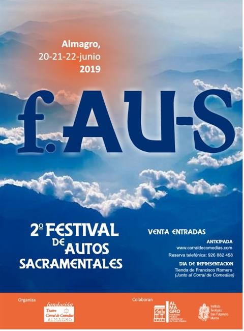 Cartel del II Festival de Autos Sacramentales de Almagro