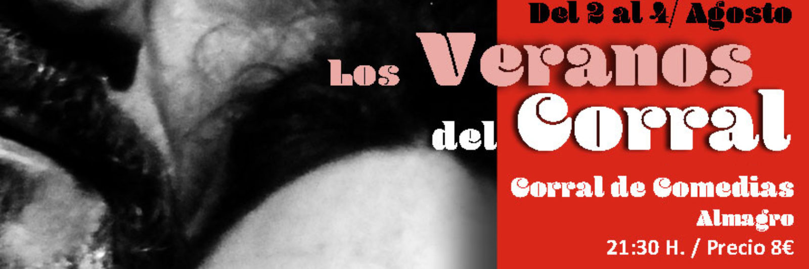 Cartel Festival Los Veranos del Corral