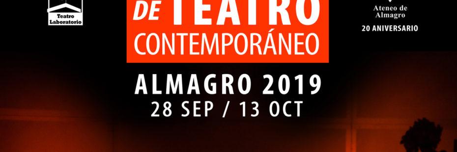 Cartel del Festival Iberoamericano de Teatro Contemporáneo 2019