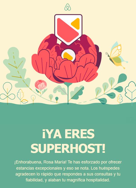 Superhost Airbnb