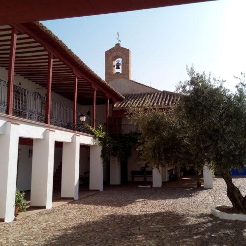 Santuario de La Virgen de la Encarnación, en Carrión de Calatrava
