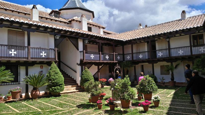 Santuario de la Virgen de la Sierra, en Villarrubia de los Ojos